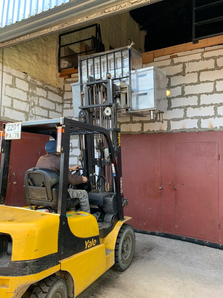 Подъем холодильного оборудования весом 280 кг для Дерево декор на склад