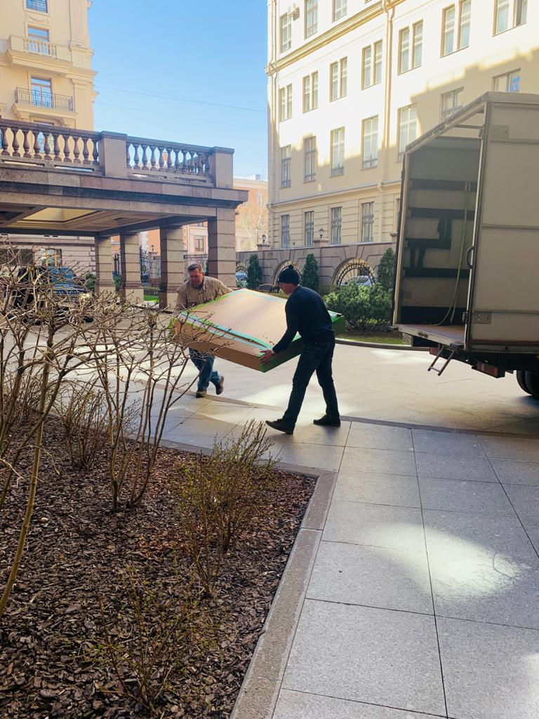 Доставка сборка мебели частному лицу в спб